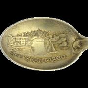 California Souvenir Spoon - San Francisco Sterling Silver Vintage Collectors