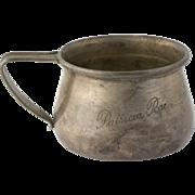 Silver Cup Mug - Sterling R Blackinton 4589 Vintage Collector's Dinning Estate