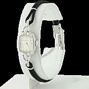 1960s Diamond Hamilton Watch - 14k Gold Mechanical Vintage 1 Yr Warranty .03ctw