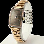 Men's Bulova Vintage Wristwatch - Gold Tone Mechanical Hand Winding