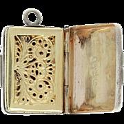 Thomas Shaw Victorian Vinaigrette Scent Box Charm Birmingham Antique Ornate