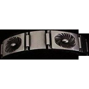 Fine Georg Jensen Sterling Silver Bracelet  Denmark 56A