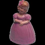 Sweet Little German Girl Bell