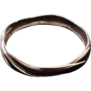 Georg Jensen Sterling Denmark Bangle Bracelet designed by Ole Kortzau