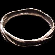 Georg Jensen Sterling Denmark Bangle Bracelet designed by Ole Kortzau