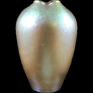 Loetz Candia Silberiris Iridescent Bohemian Art Nouveau Glass Vase, PN II-2/474, ca. 1902