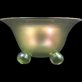 Loetz Olympia Glatt Bowl, PN III-616, ca. 1918