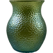 Loetz Silbermartele iridescent Bohemian glass vase, PN II-182, ca. 1900