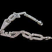 """Sterling Silver CZ """"I LOVE YOU"""" Bracelet"""