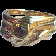 Victorian 14k Gold Snake Ring