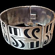 Mexican Bracelet Pedro Castillo Sterling Silver