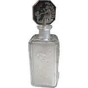 Beautiful Art Deco Heinrich Hoffman Cupid Perfume Bottle