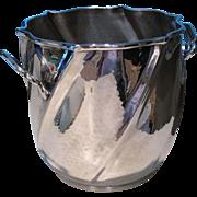 Silver Plate Italian Ice Bucket, circa 1970