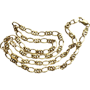 "Estate 18k (750) Gold Italian Chain, 20""~ 10.3 grams"