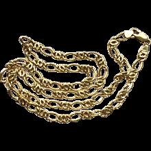 "Estate 18k (750) Gold Italian Chain, 20""~ 10.3 grams - Red Tag Sale Item"