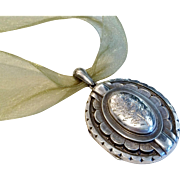 Victorian Silver English Locket