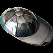 Vintage Tiffany & Co. Sterling Silver Jockey Cap Tea Caddy Spoon