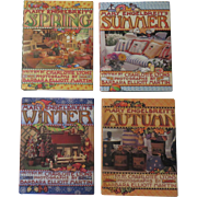 Collection of Four Mary Engelbreit and Charlotte Lyons Seasonal Books, 1996 and 1997