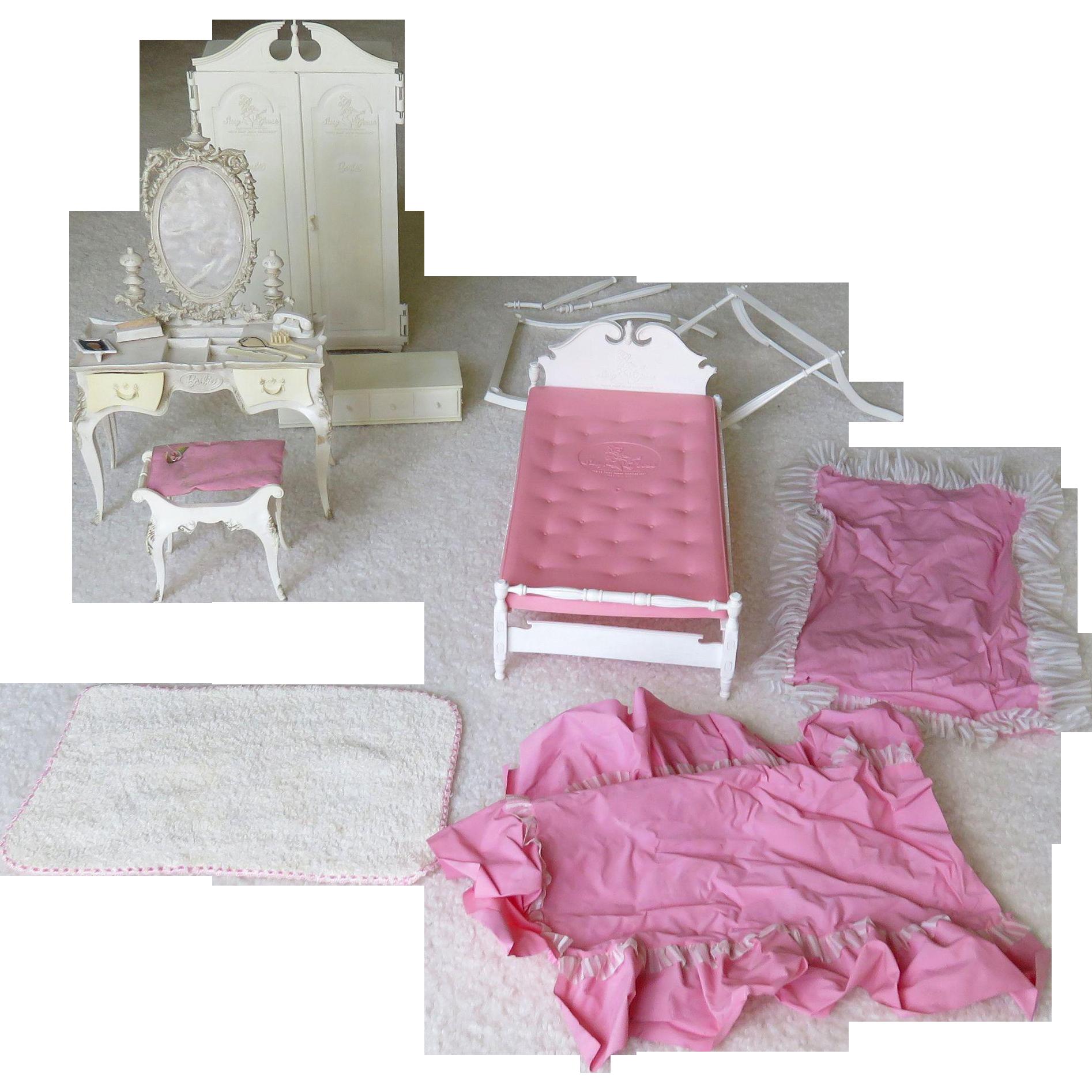 mattel suzy goose barbie bedroom furniture ca 1960 barbie bedroom furniture