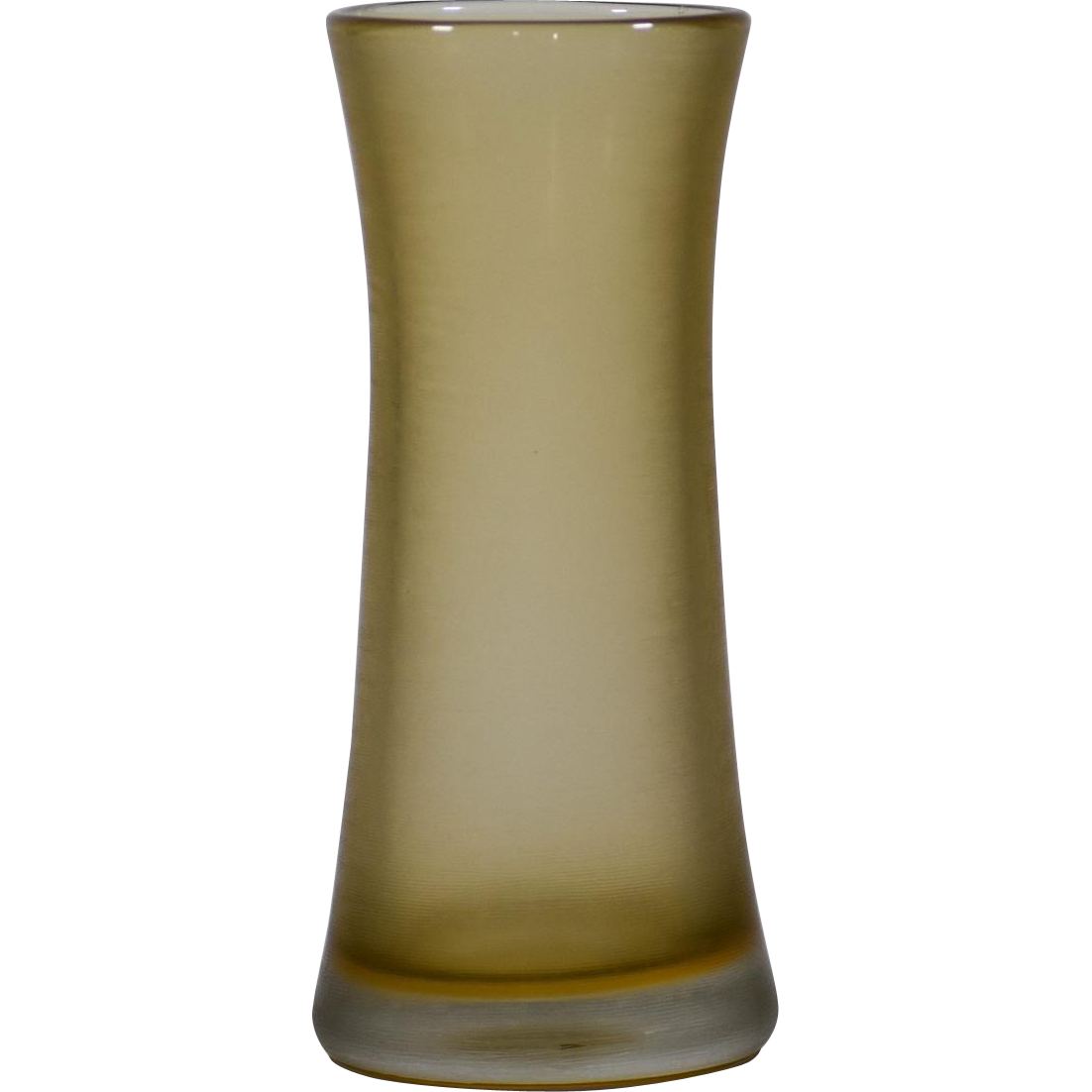 Venini Art Glass Vase Inciso c. 1965
