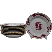 9 Meissen Dessert Dishes