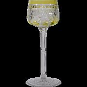 Baccarat Chartruese Hock Wine Glass
