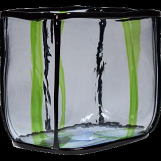 Venini Handblown Glass Vase