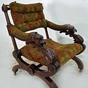 Victorian Eagle Armchair