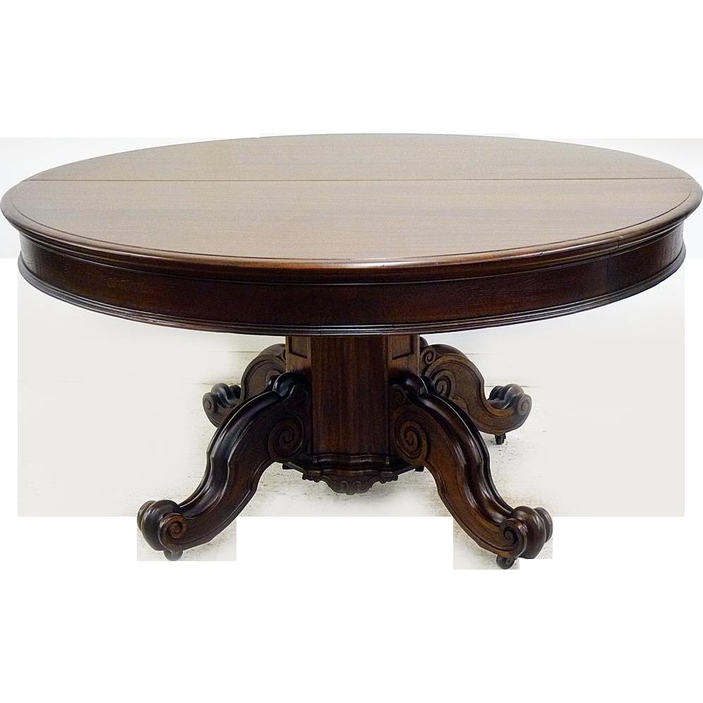 Mahogany Victorian Dining Table