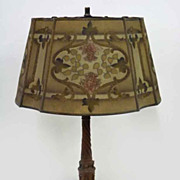 """REMBRANDT"" Table Lamp with Mesh Shade"