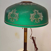"Early""Pittsburgh Lamp, Brass and Glass Company"" Lamp"