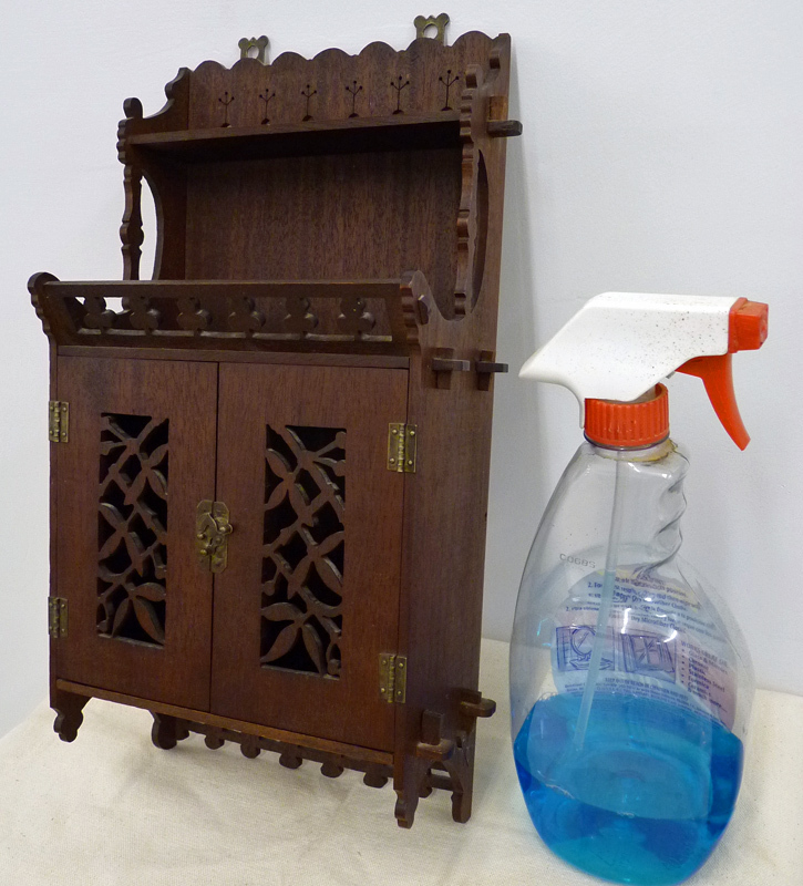 Unique Miniature Hanging Cupboard Shelf