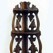 Victorian Hanging Corner Shelf