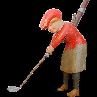Schoenhut Indoor Golf – Sissie Lofter game including the rare box