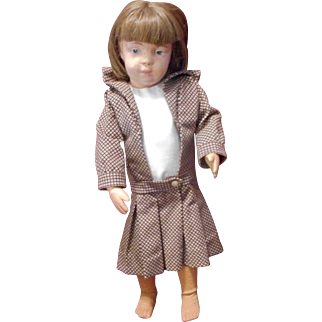 Schoenhut 16 In Character Face Girl Doll  Possible 16/ 301