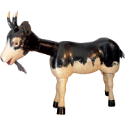 Schoenhut Painted Eye Goat from the farm set and Humpty Dumpty Circus