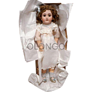 Heinrich Handwerk / Simon Halbig Doll 26 inch Very Nice Condition in box bottom