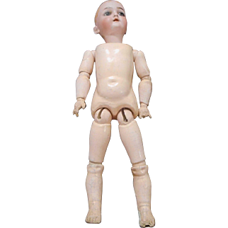 16 inch Marked Heinrich Handwerk doll  for Restoration / Repair