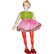 Schoenhut Humpty Dumpty Lady Rider with Bisque Head
