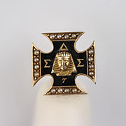 10K Sigma Delta Sigma Sorority Pin