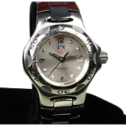 Ladies Stainless Steel Tag Heuer Quartz Watch