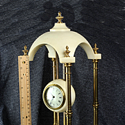 Antique French Marble 8 Day Gravity Clock