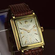 18k Gold Patek Philippe Wristwatch ... Ca: 1960's