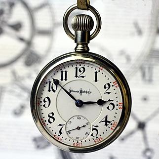 18 size, 23 jewel Illinois Railroad Grade Pocket Watch, 1912