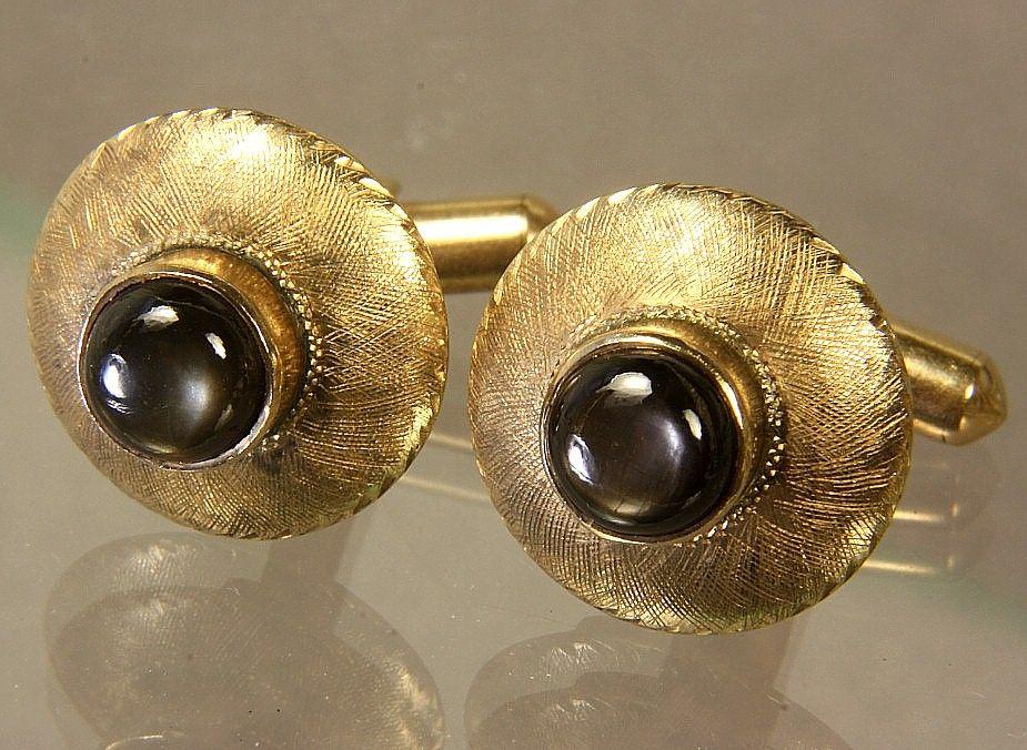 18K Gold Vintage Cufflinks