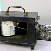 1890 Casella of London Thermometer Barograph , Powered by  French Clock Movement