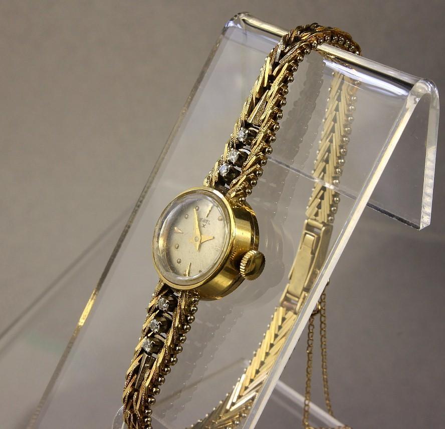 Ladies 18K Ebel Watch with Diamonds