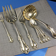 International Joan of Arc Pattern Flatware - 8 Misc. Pieces