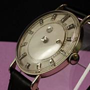 14K White Gold Vacheron & Constantin - LeCoultre Mystery Dial Wrist Watch