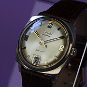 10K Gold Filled Wyler Incaflex -Dynawind, 1960's Wrist Watch
